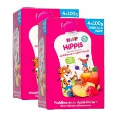 HiPP Bio Waldbeeren in Apfel-Pfirsich