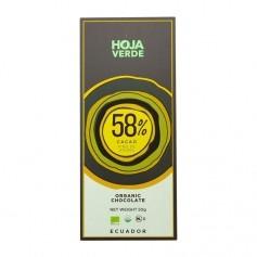Hoja Verde Bio Schokolade 58%