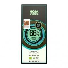 Hoja Verde Bio Schokolade 66%