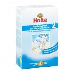 Holle, Lait de suite 2ème âge au lait de chèvre bio, poudre