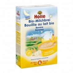 Holle Bio-Milchbrei Banane für Babys, Pulver