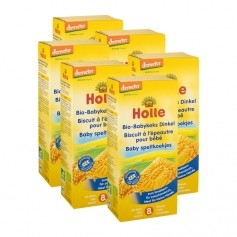 Holle 6 x Bio Baby Dinkel-Keks