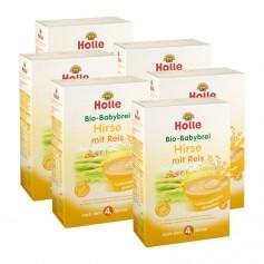 Holle 6 x Bio Babybrei, Hirse