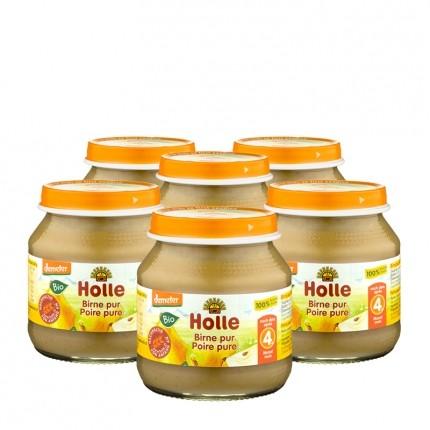Holle 6 x Bio Birne