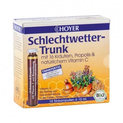 Hoyer Bio Schlechtwetter-Trunk