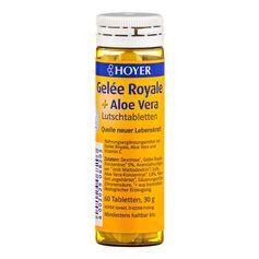 Hoyer Gelée Royale og Aloe Vera, sugetabletter