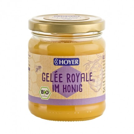 Hoyer Bio Gelée Royale im Honig (250 g)