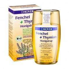Hoyer økologisk fennikel og timian honning sirup