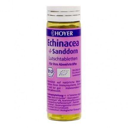 Hoyer Bio Echinacea + Sanddorn Lutschtabletten