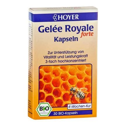 Hoyer Royal Jelly Organic Forte Capsules