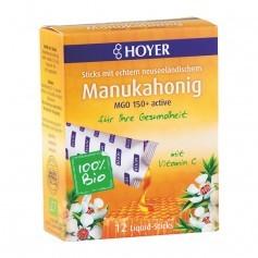 Hoyer Sticks de Miel de Manuka Liquide Bio actif MGO 100+