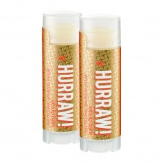 2x HURRAW! Vata Lip Balm, raw, eko