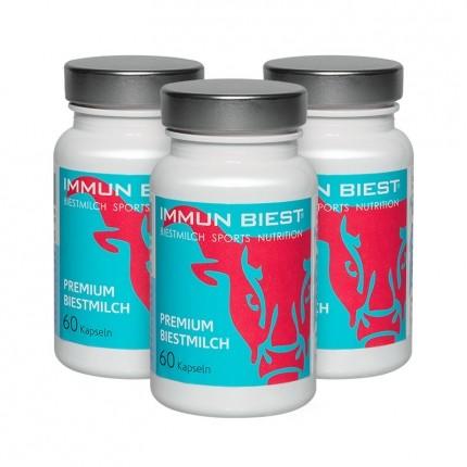 3 x Immunbiest Bio Biestmilch, Kapseln