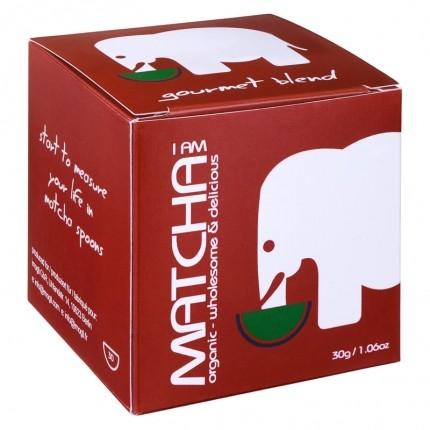 imogti Gourmet Blend Matcha mit nu3 Matcha Besen