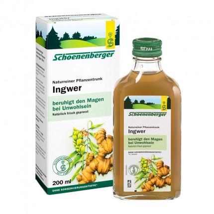 ingefärajuice Schoeneberger