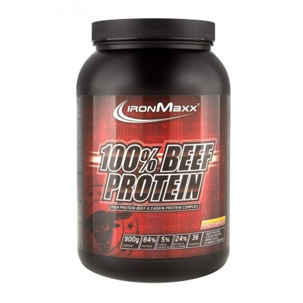IronMaxx 100% Beef Protein, Honigmelone, Pulver