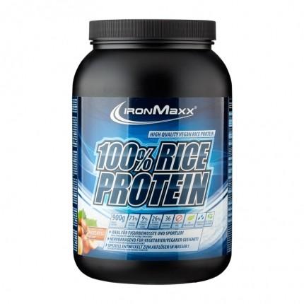 IronMaxx 100% Rice Protein Haselnuss, Pulver