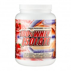 IronMaxx 100% Whey Isolate Erdbeere, Pulver