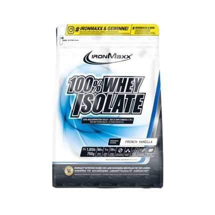 IronMaxx 100% Whey Isolate Vanille, Pulver