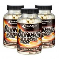IronMaxx, Carnitin pro, lot de 3, gélules
