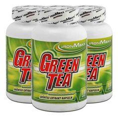 3 x IronMaxx grøn te ekstrakt, kapsler