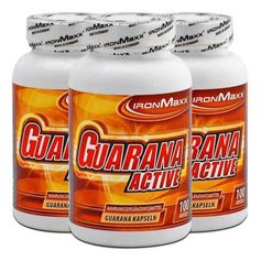 IronMaxx, Guarana active, lot de 3, gélules