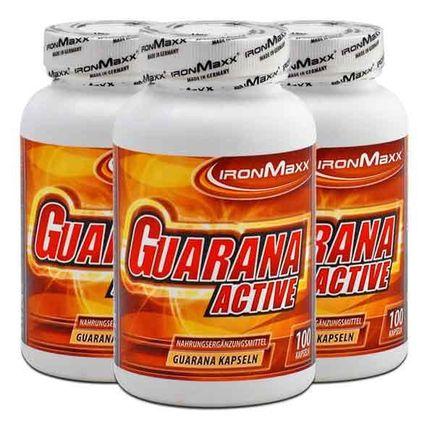 3 x IronMaxx Guarana Active, Kapseln