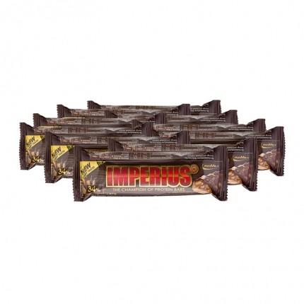 10 x IronMaxx Imperius Erdnuss-Karamell, Riegel