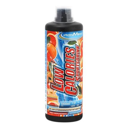 10 x IronMaxx Low Calorie Blood Orange Sports Drink