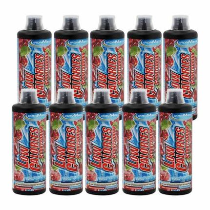 10 x IronMaxx Low Calorie Cherry Sports Drink