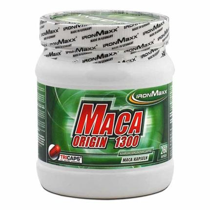 IronMaxx, Maca origin, lot de 3, gélules