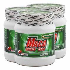 3 x IronMaxx Maca Origin, kapsler