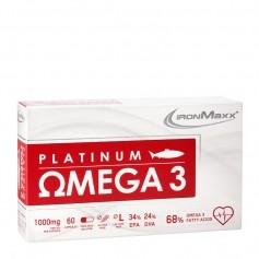 Ironmaxx Platinum Omega 3, Kapseln