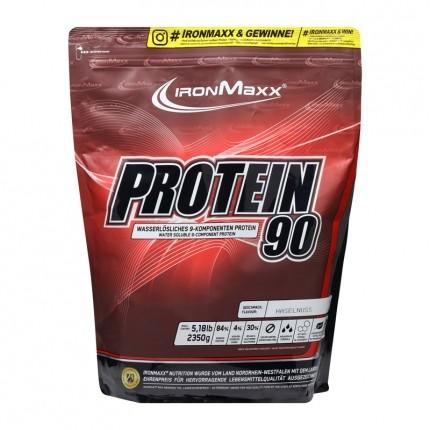 IronMaxx Protein 90 hasselnød, pulver