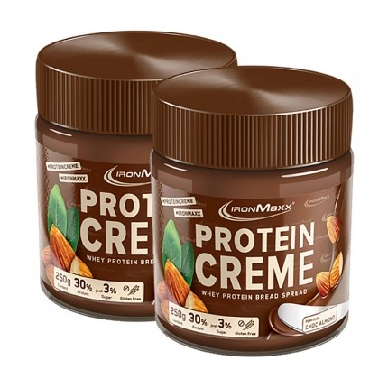 Protein Creme, Schokolade-Mandel (2 x 250 g)