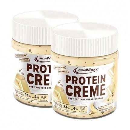 Protein Creme, Weiße Schokolade Crisp (2 x 250 g)