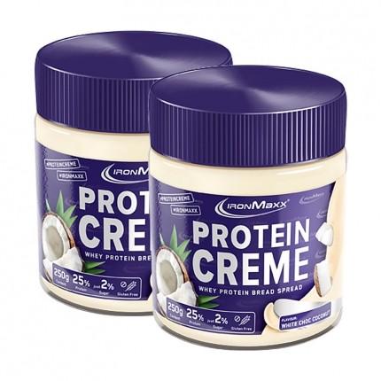 Protein Creme, Weiße Schokolade-Kokos (2 x 250 g)