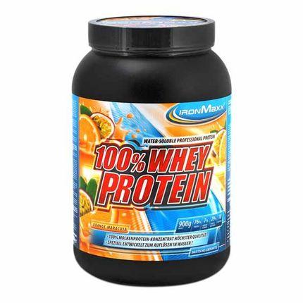 IronMaxx Whey Protein Apelsin-Passionsfrukt, Pulver