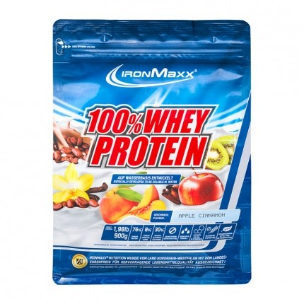 IronMaxx Whey Protein Apple-Cinnamon Powder