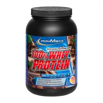 IronMaxx, Whey Protein au chocolat noir d'Equateur, poudre