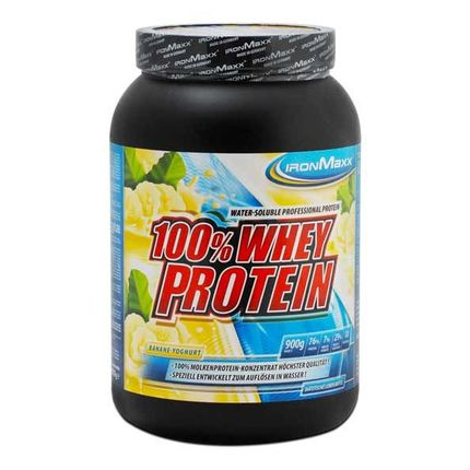 IronMaxx Whey Protein Banana-Yoghurt Powder