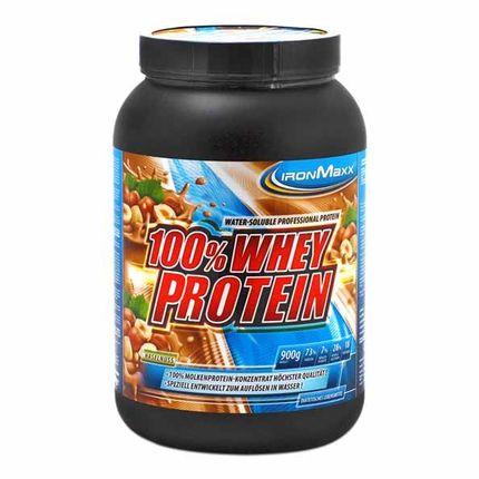 IronMaxx Whey Protein Haselnuss, Pulver