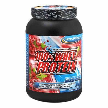 IronMaxx Whey Protein Himbeere, Pulver
