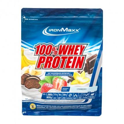 IronMaxx Whey Protein Jordgubb, Pulver