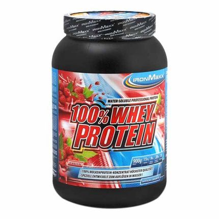 IronMaxx Whey Protein Raspberry Powder