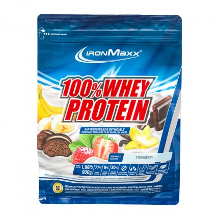 IronMaxx Whey Protein Strawberry Powder