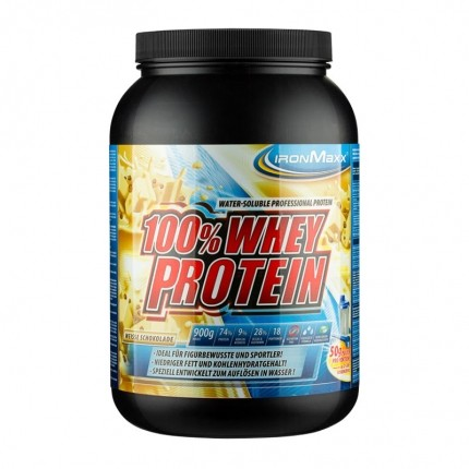 Ironmaxx Whey Protein White Chocolate Powder Digestable