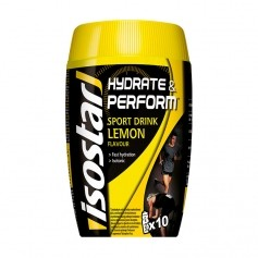 Isostar Hydrate & Perform Lemon, Pulver