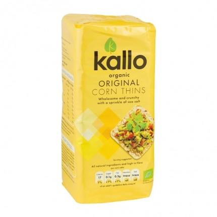 Kallo Thin Organic Corn Cakes