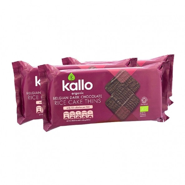 Kallo Chocolate Rice Cake Thins